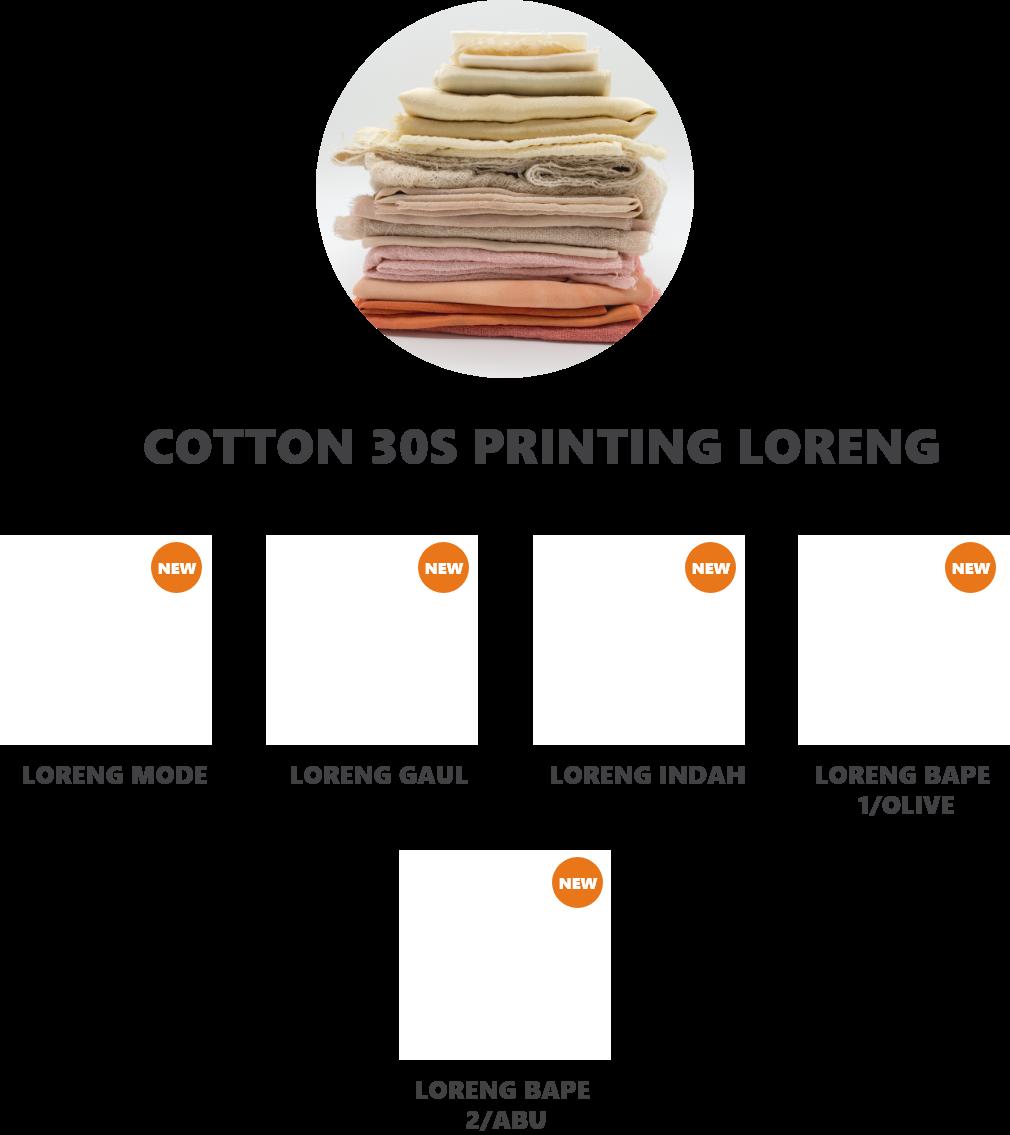 cotton-loreng