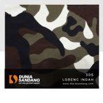 30 s loreng indah no top