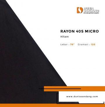 RAYON 40s micro
