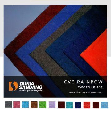cvc rainbow twotone 12 warna